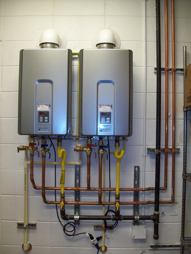 Install Tankless Water Heater The Professional Plumbers